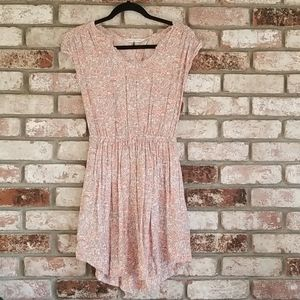 open back gray summer dress